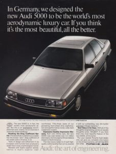 1984 Audi 5000 In Germany We Designed